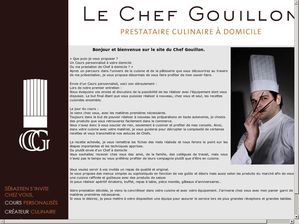 Ma Cuisine Vos Envies le chef gouillon competitors, revenue and employees - owler
