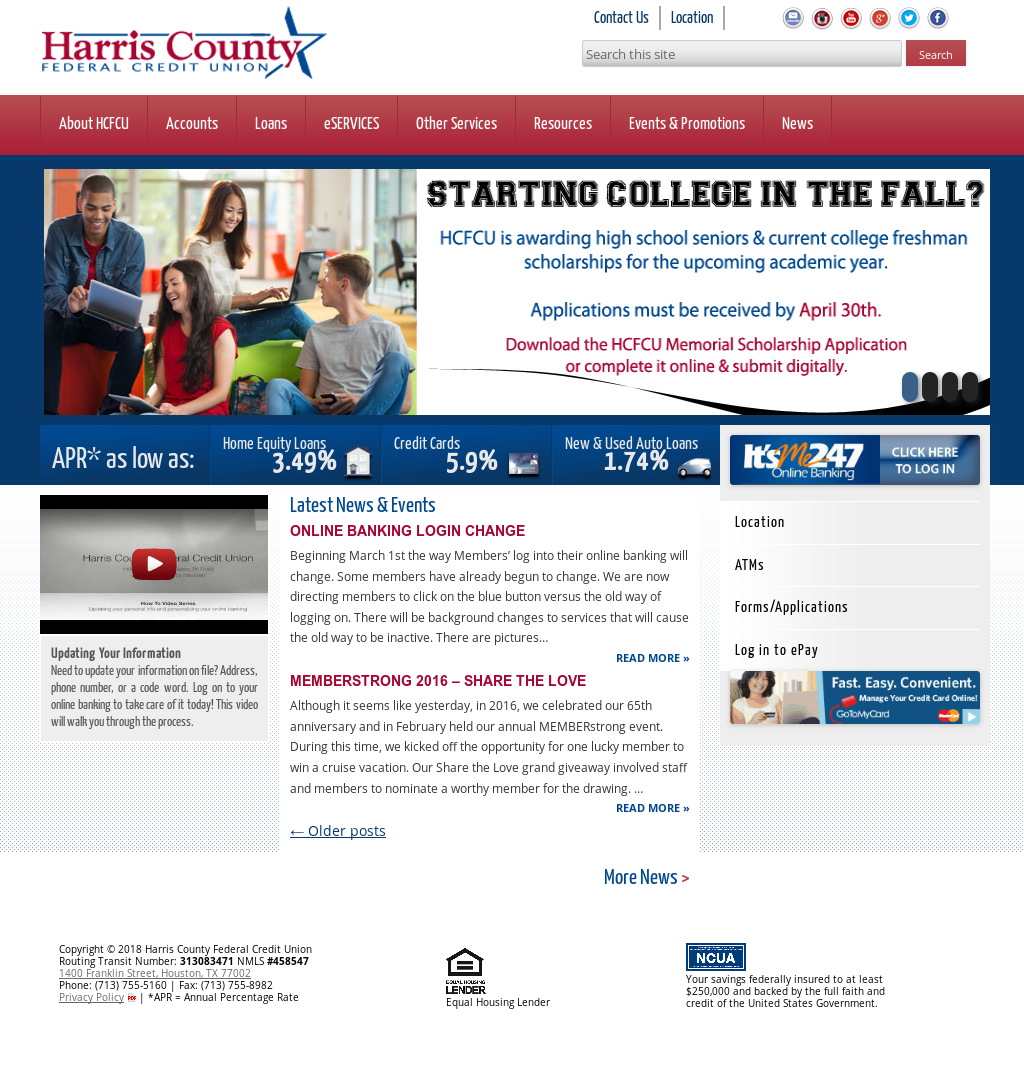 Harris County Federal Credit Union Competitors, Revenue and Employees - Owler Company Profile