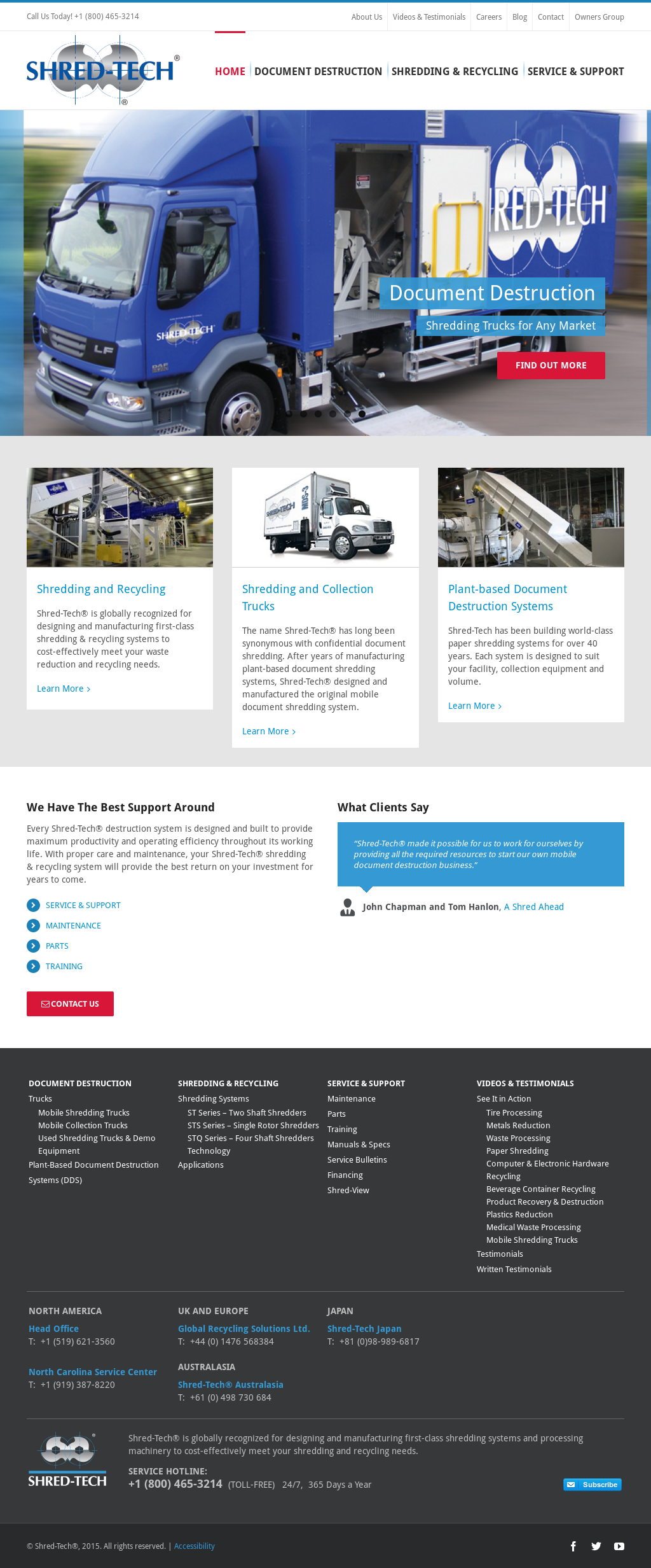 Shred-Tech Competitors, Revenue and Employees - Owler Company Profile