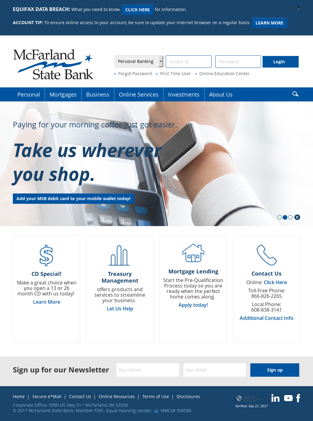 McFarland State Bank Compeors, Revenue and Employees - Owler ... on