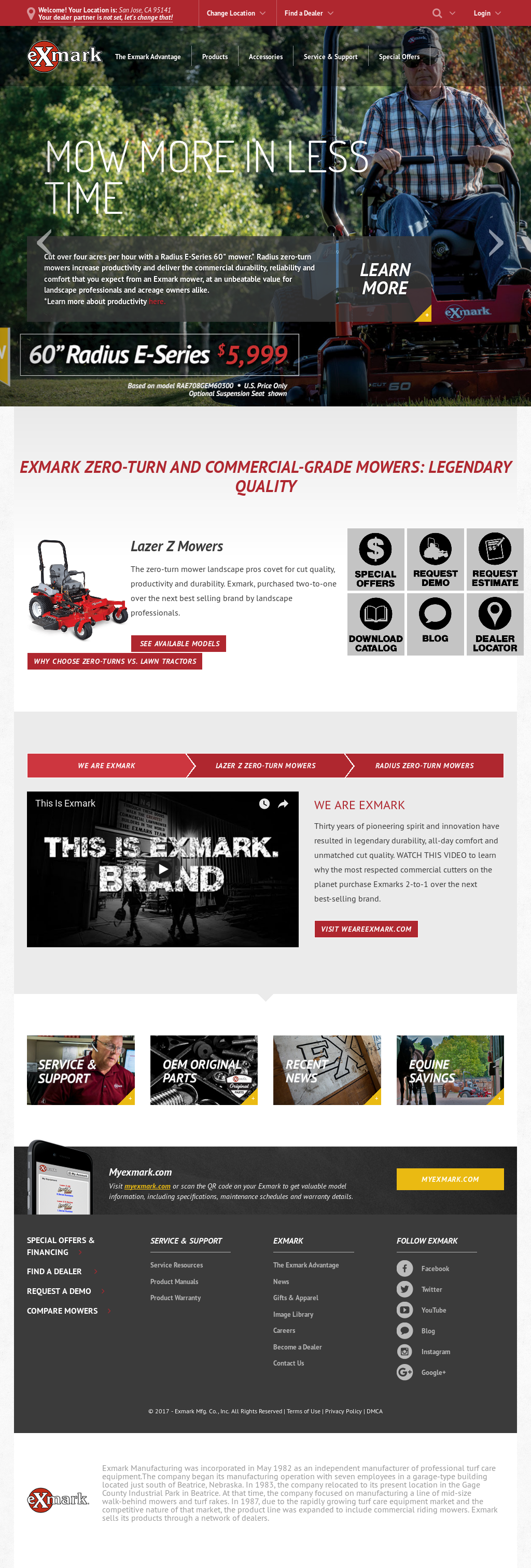 Exmark Competitors, Revenue and Employees - Owler Company Profile