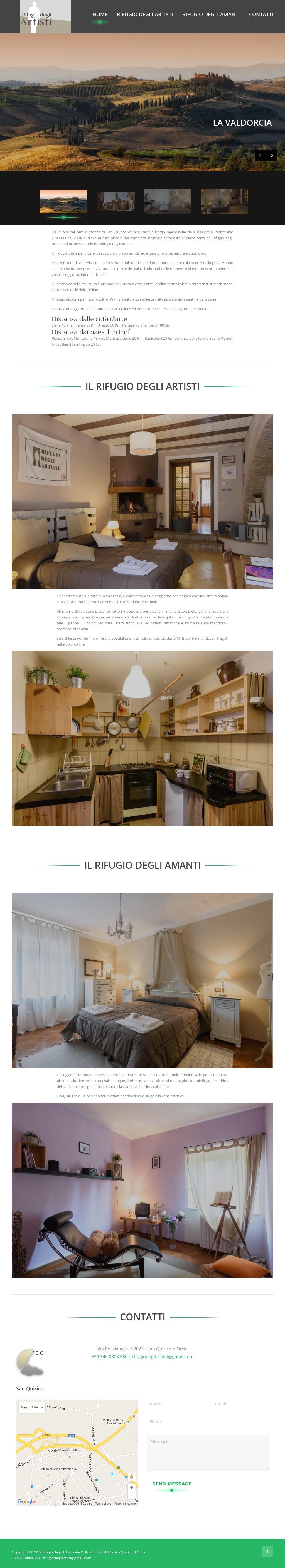 Design Degli Interni Roma rifugio degli artisti competitors, revenue and employees