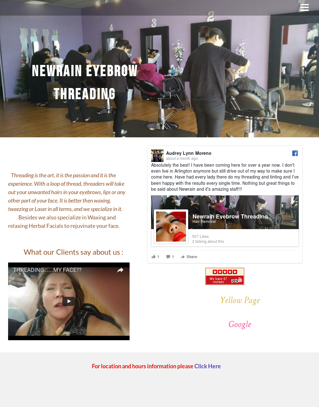 Newrain Eyebrow Threading Competitors Revenue And Employees Owler