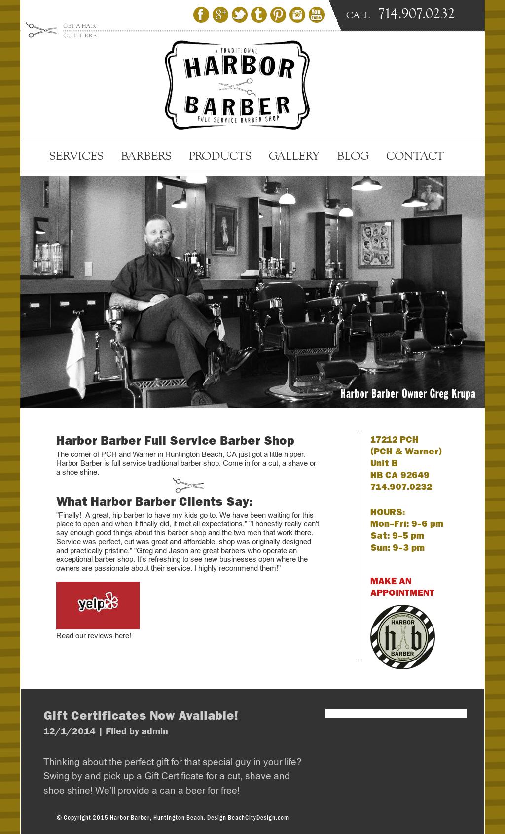 Harbor Barber - Huntington Beach, Ca Competitors, Revenue and