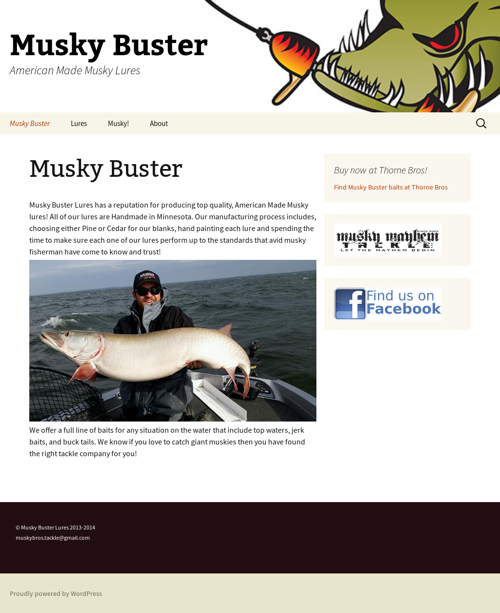 Musky Buster Lures Competitors, Revenue and Employees - Owler