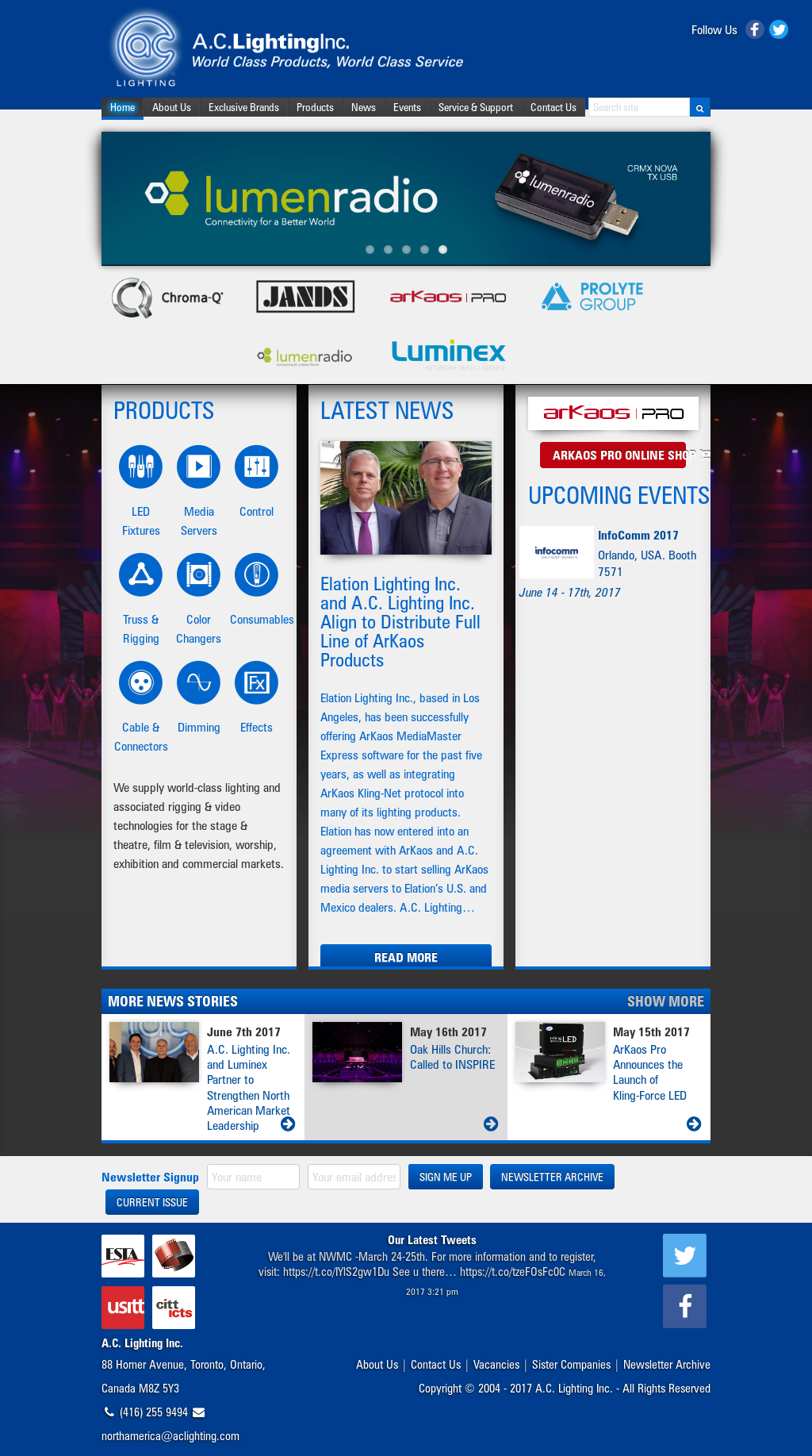 A c lighting competitors revenue and employees owler company profile