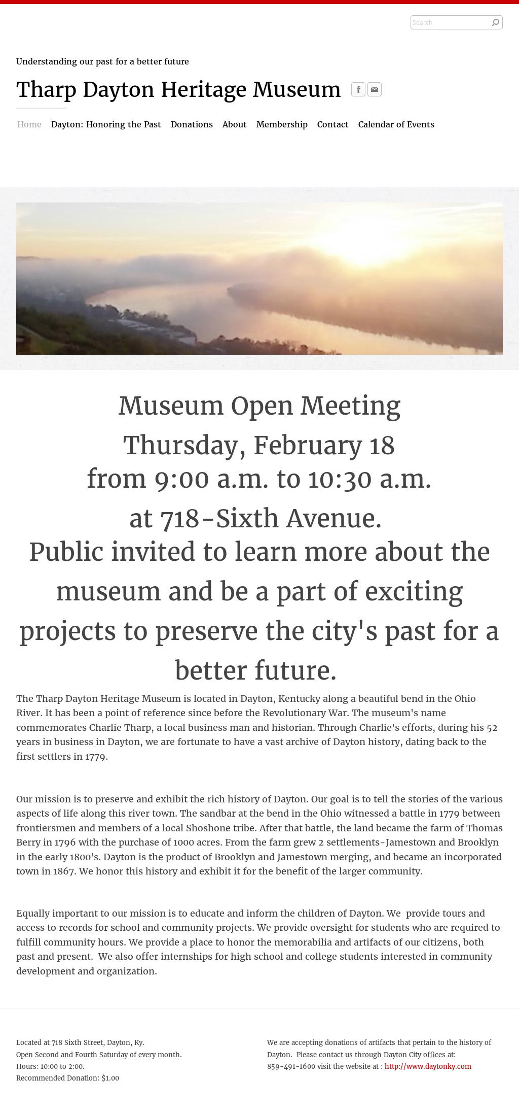 Tharp Dayton Heritage Museum Competitors, Revenue and