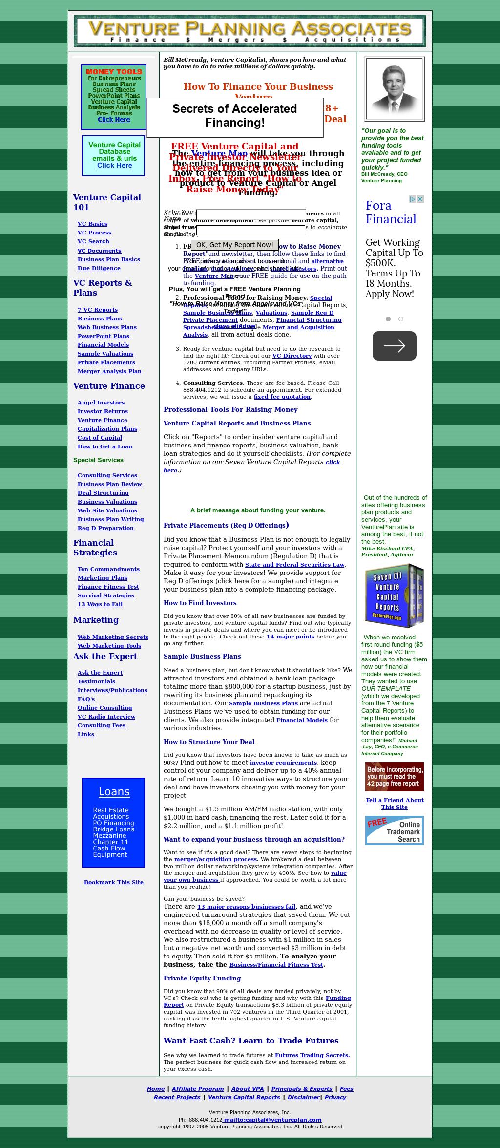 Venture Planning Associates Competitors, Revenue and Employees