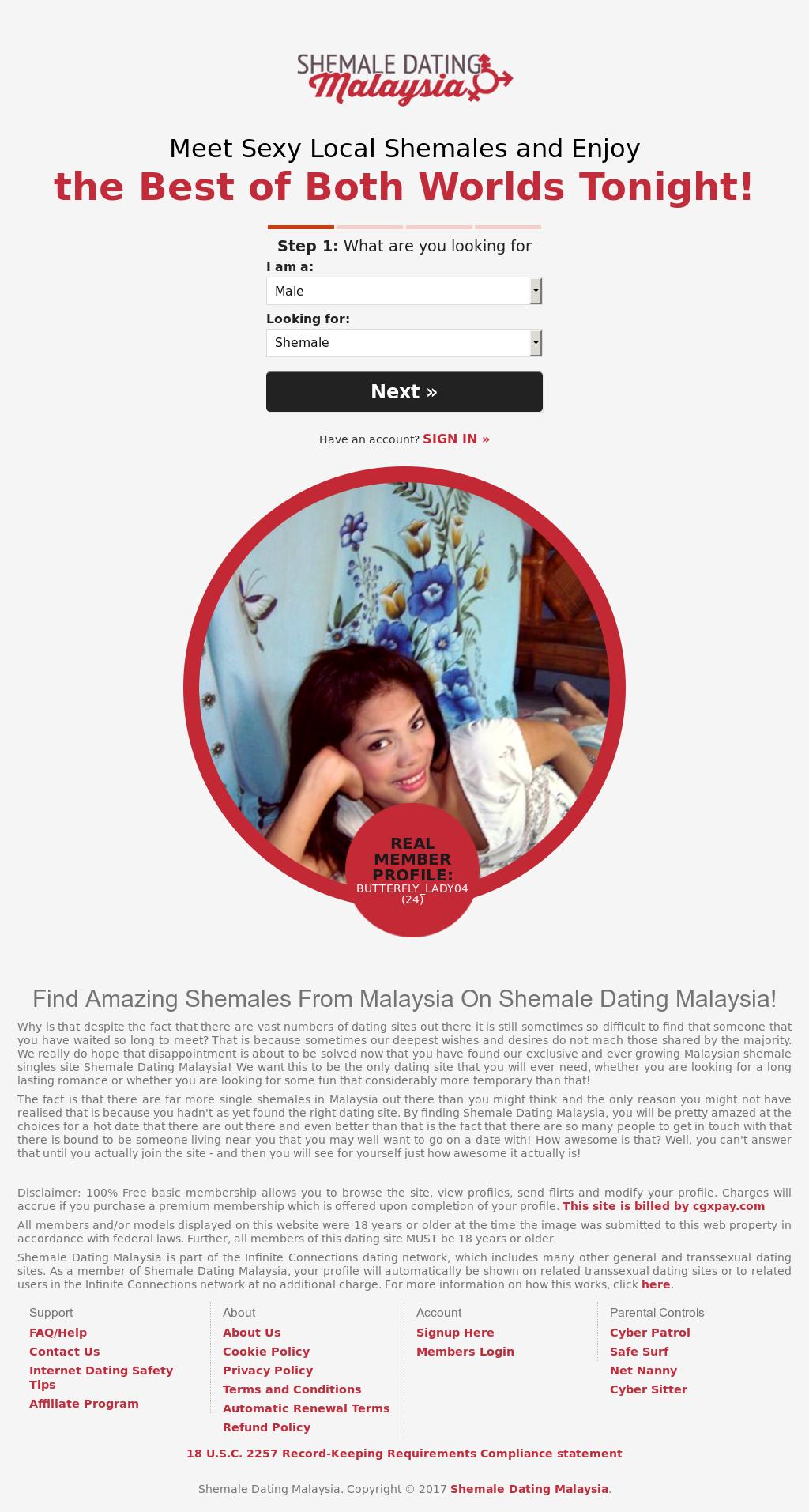 Shemale dating malaysia
