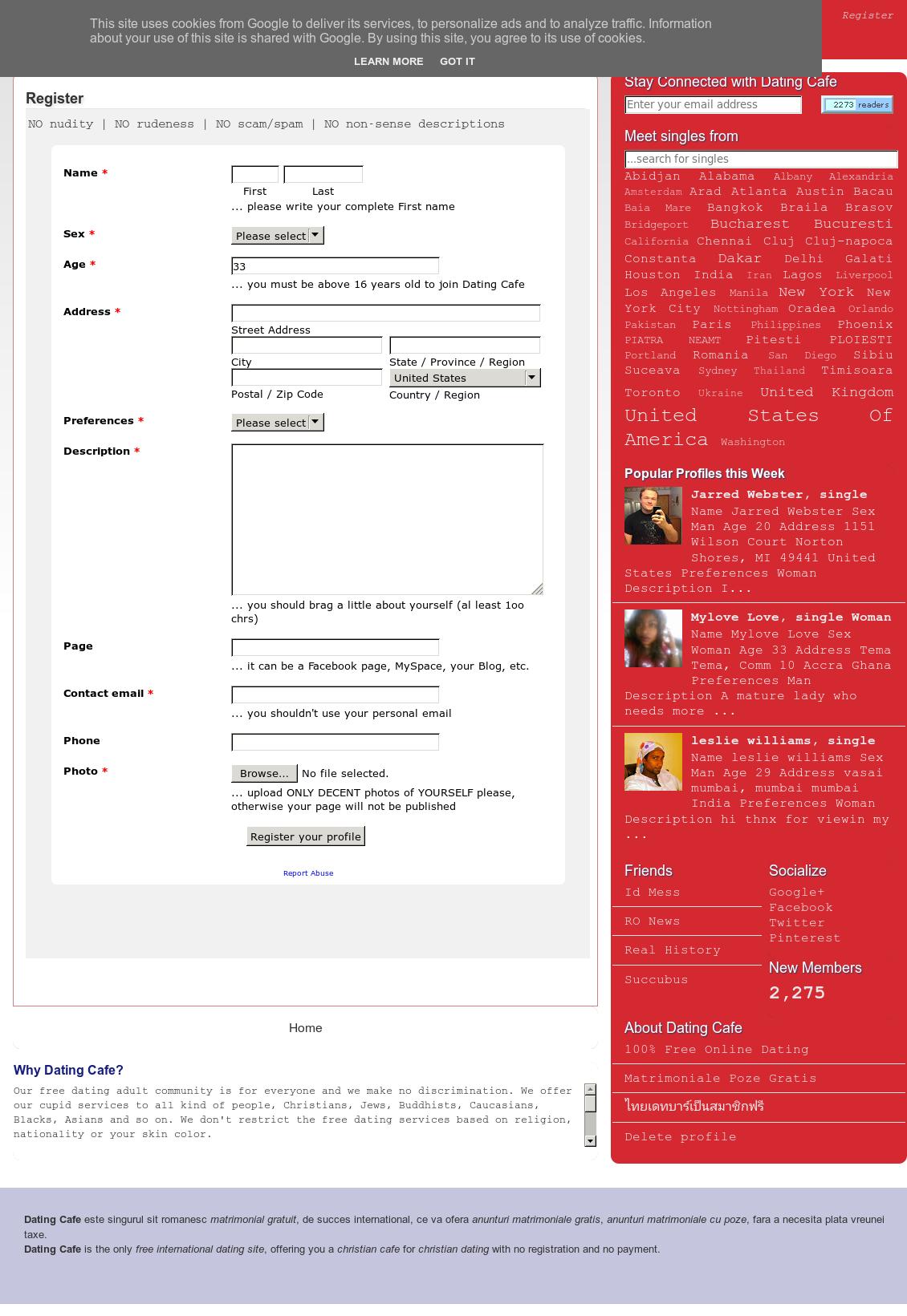 Gratis online dating sites voor Mumbai
