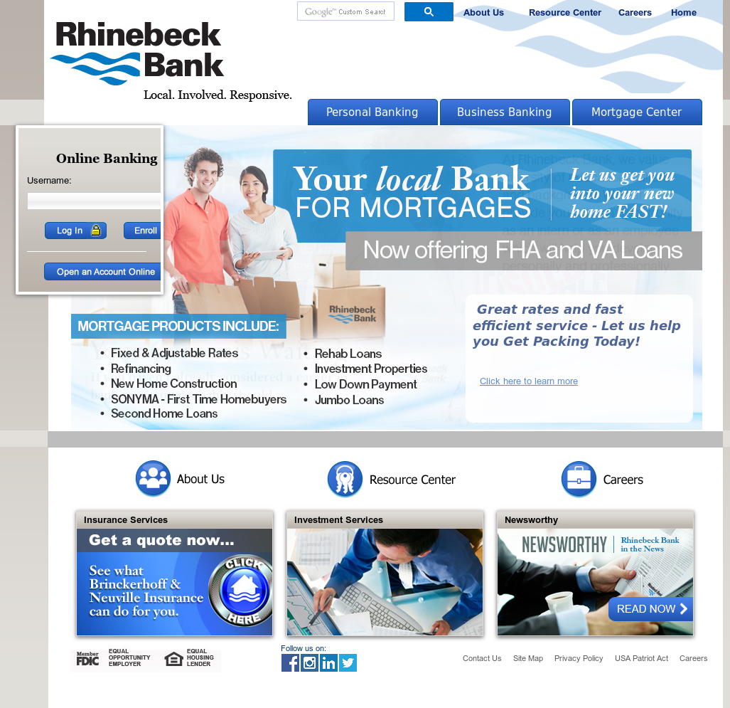 Rhinebeck Bank Competitors, Revenue and Employees - Owler