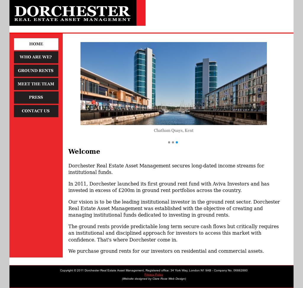 Dorchester Real Estate Asset Management, Registered Office