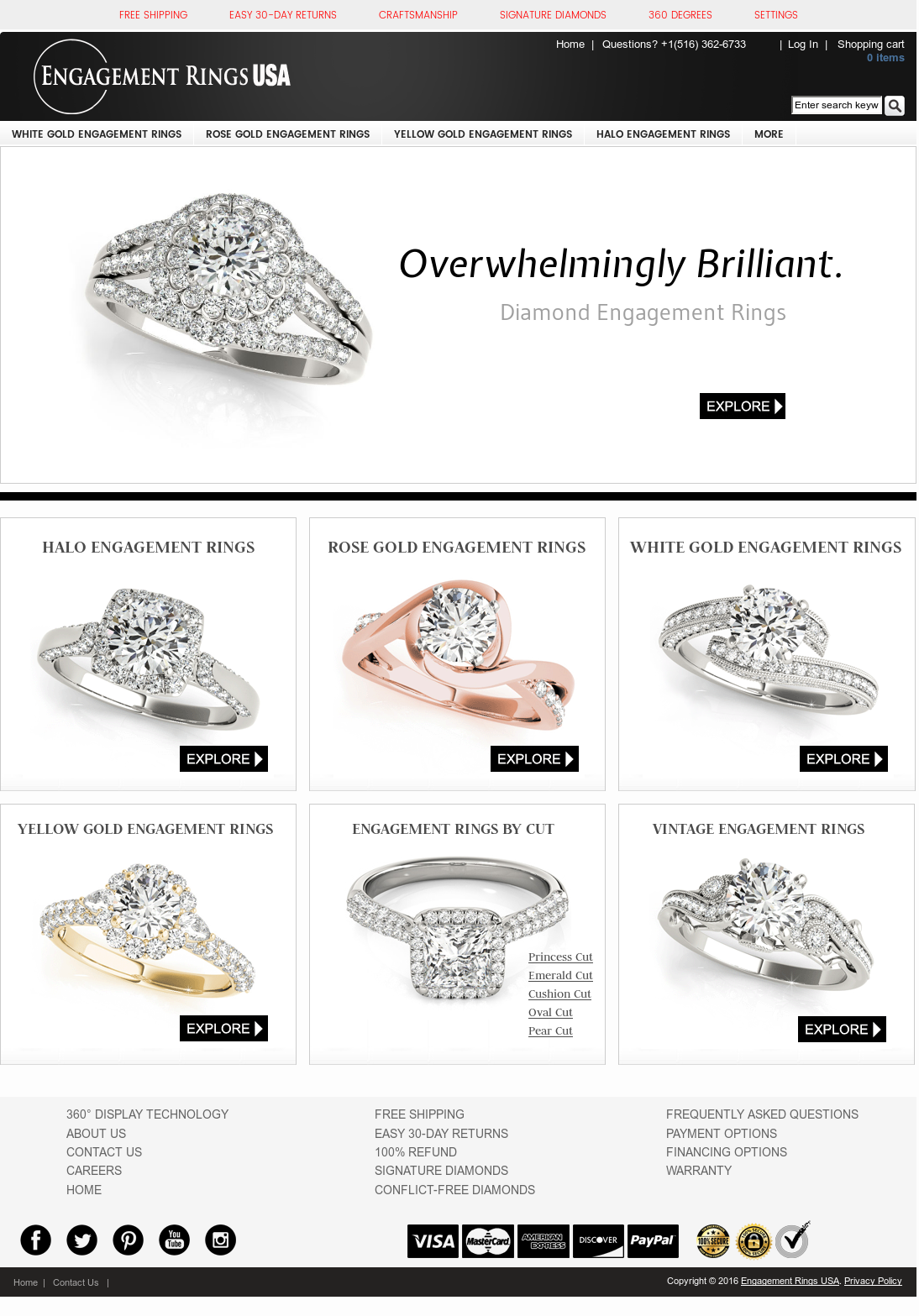 Engagement Rings Usa Competitors, Revenue and Employees