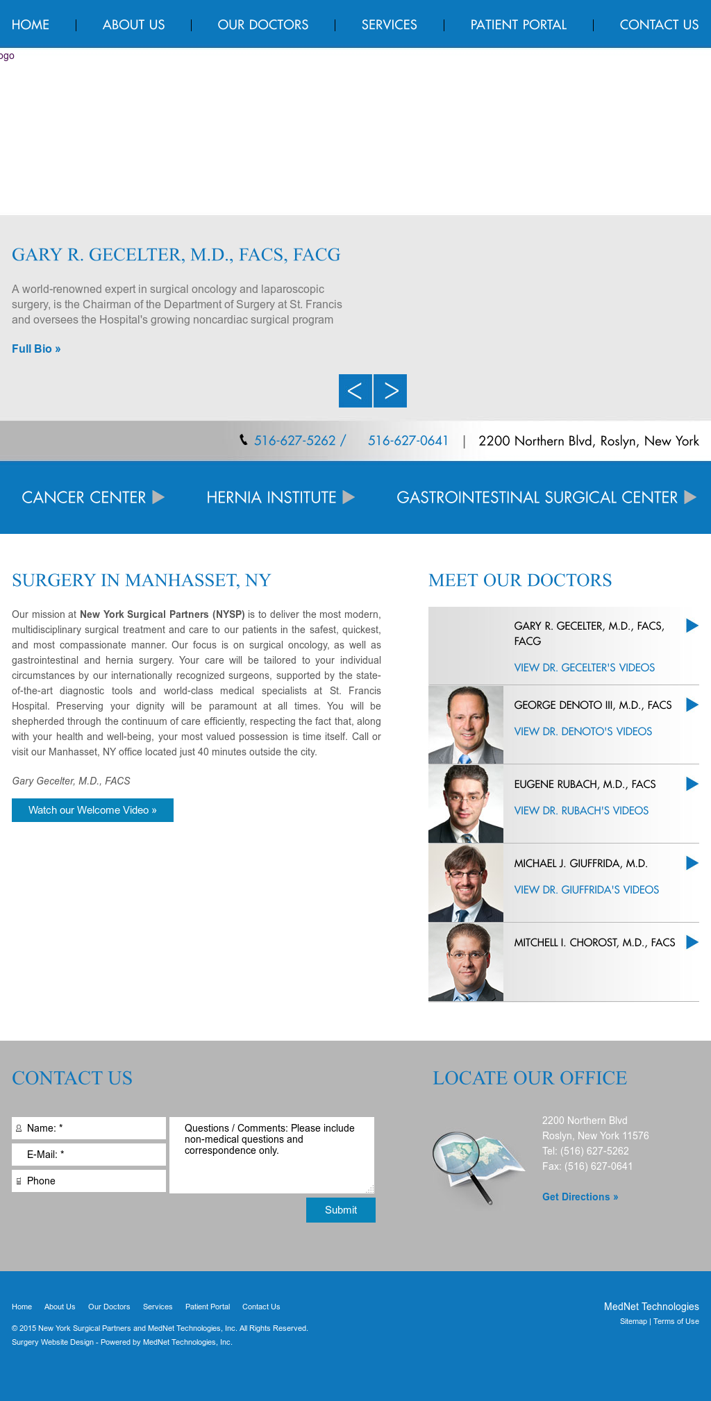 New York Surgical Partners And Mednet Technologies Competitors
