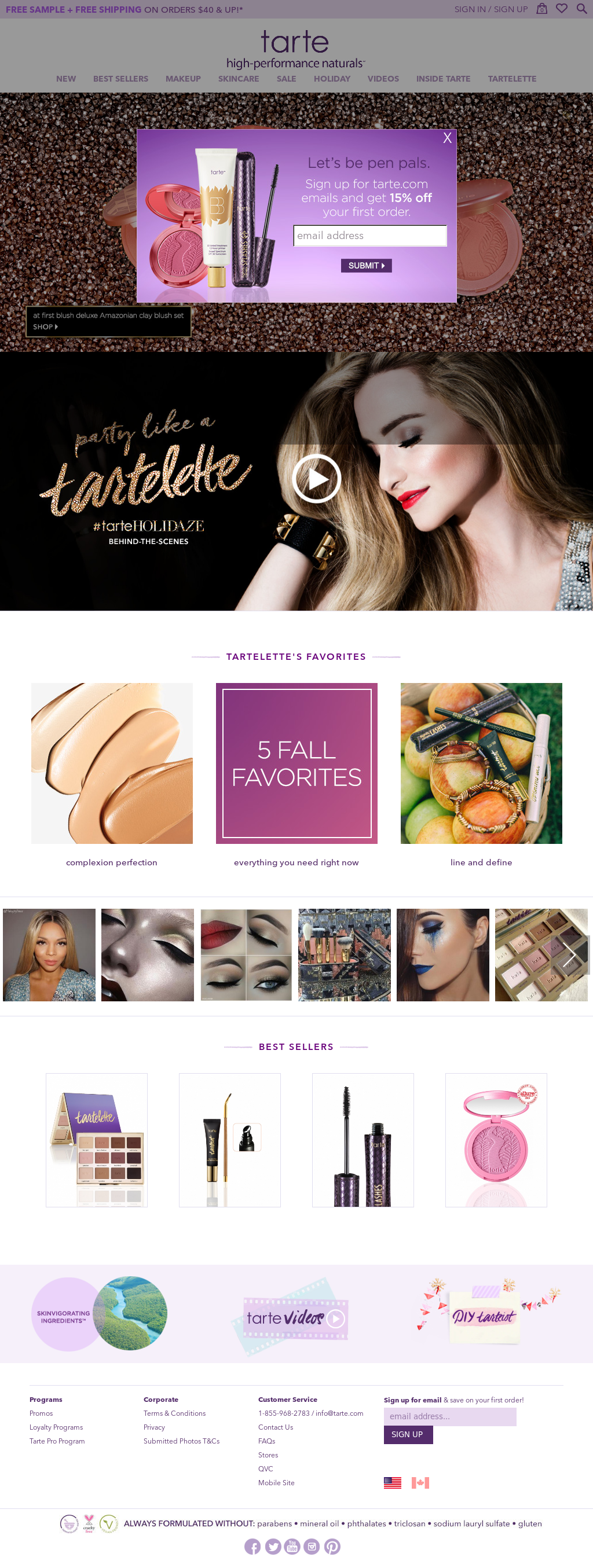 Tarte Cosmetics Competitors, Revenue and Employees - Owler