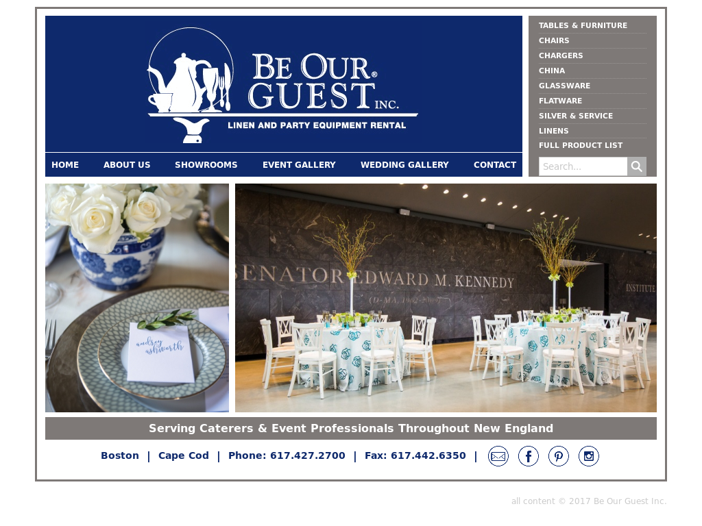 be our guest inc