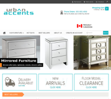 urban accents furniture. jul 2017 aug urban accents toronto website history furniture