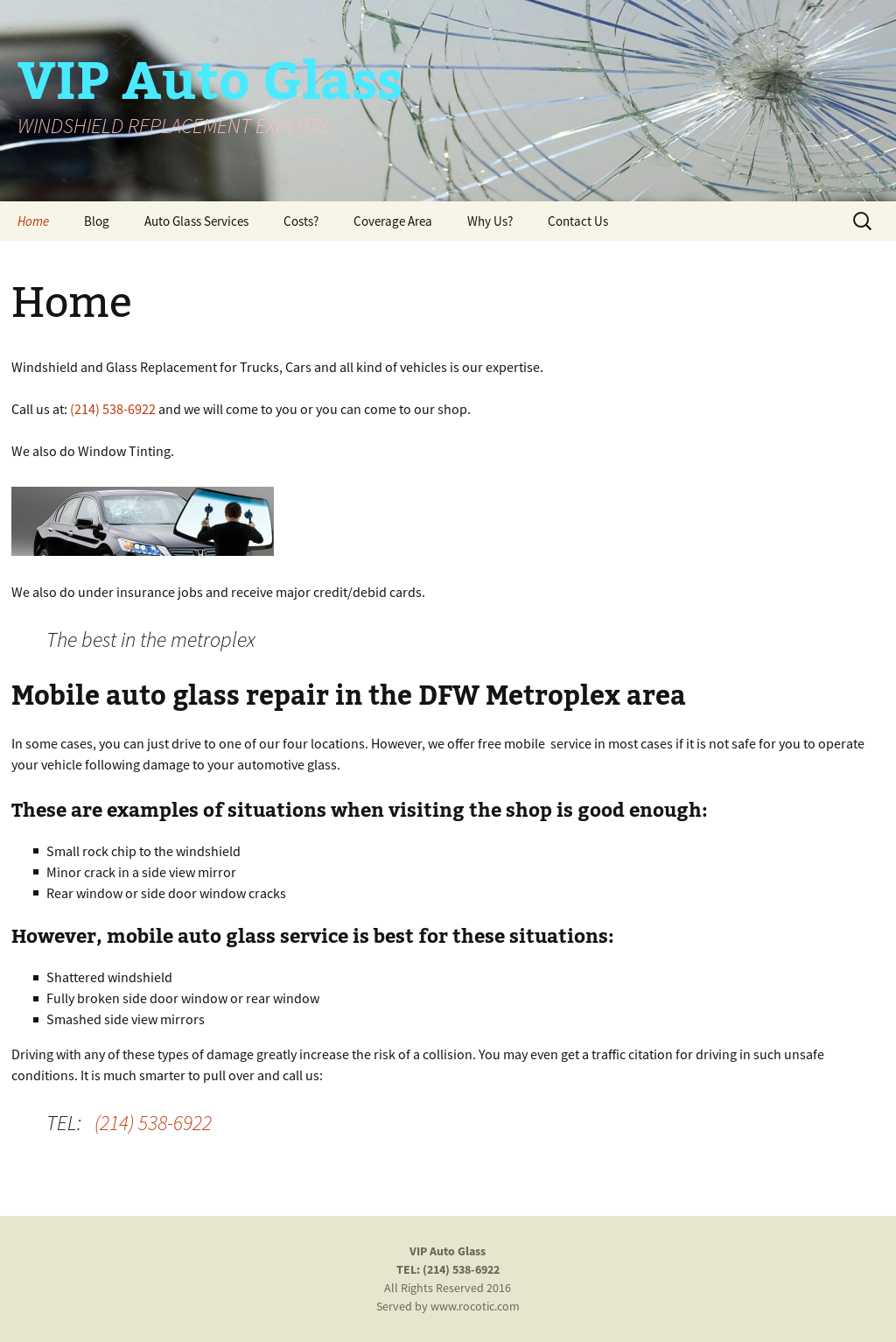 Vip Auto Glass Repair In Dallas Competitors, Revenue and Employees ...