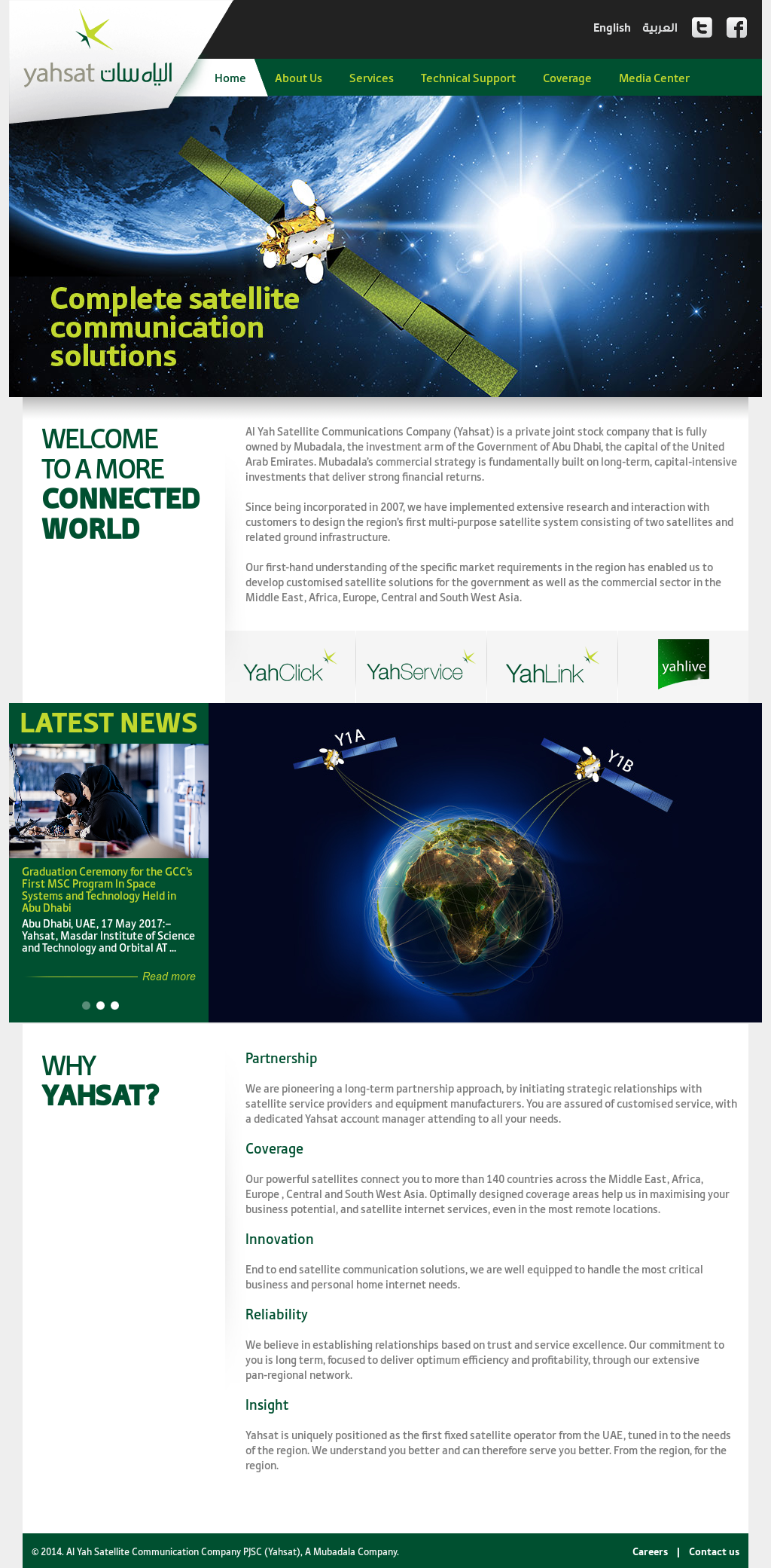 Yahsat Competitors, Revenue and Employees - Owler Company