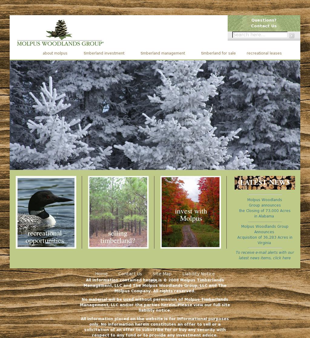Owler Reports - Press Release: Molpus : Molpus Woodlands
