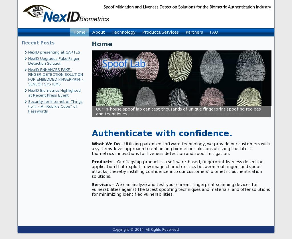 NexID Biometrics Competitors, Revenue and Employees - Owler Company