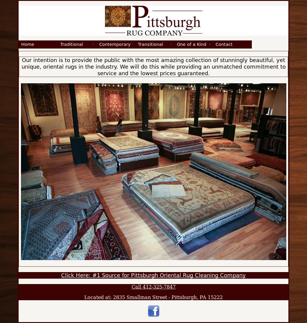 Pittsburghorientalrugs Website History