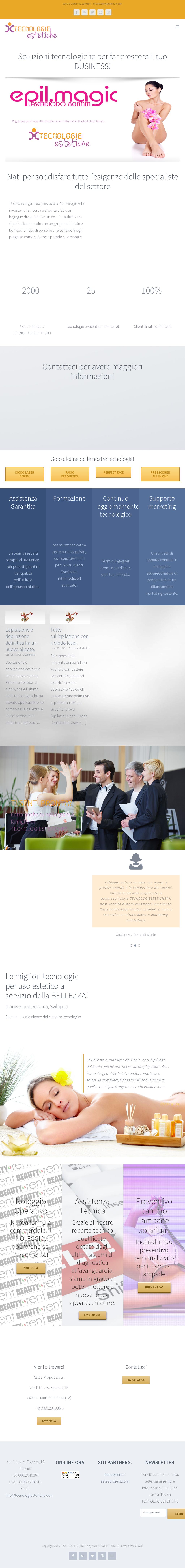 Ant Martina Franca tecnologie estetiche competitors, revenue and employees