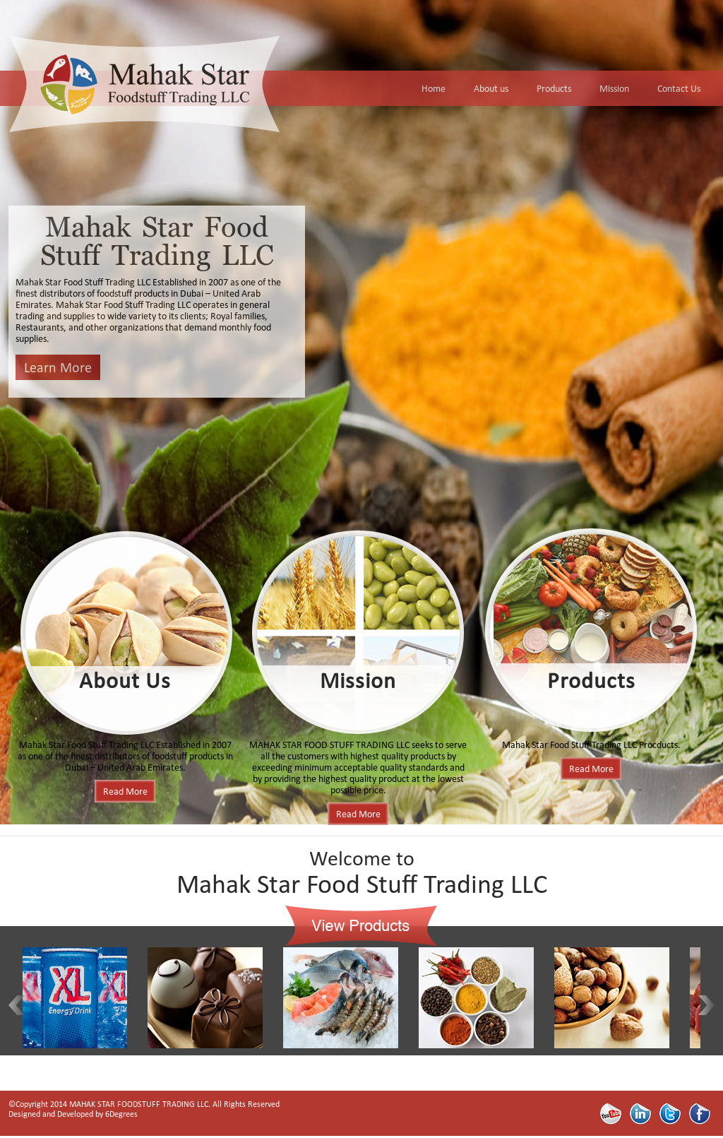 Mahak Star Foodstuff Trading Competitors, Revenue and