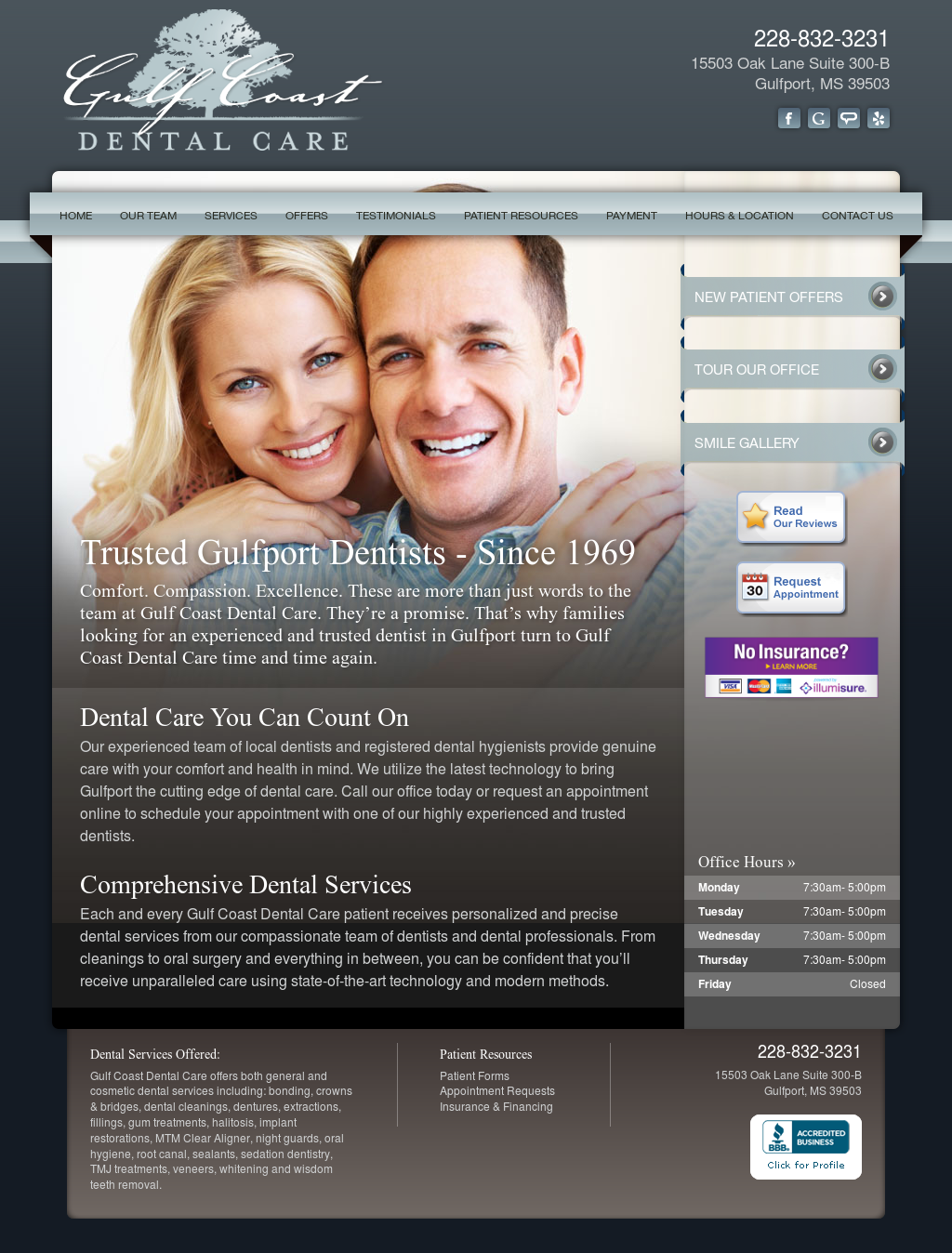 Gulf Coast Dental Care Competitors, Revenue and Employees