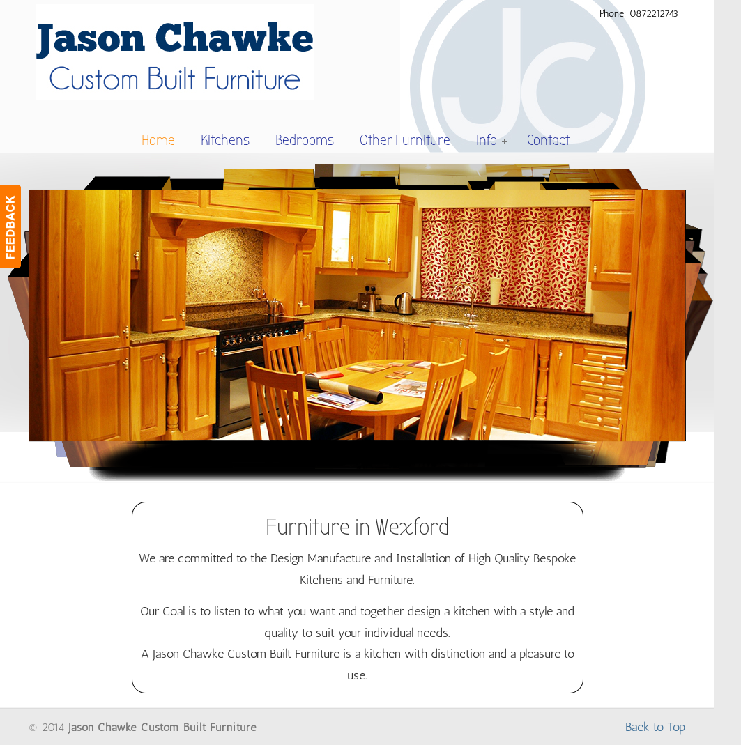 Jason Chawke Custom Built Furniture Competitors, Revenue And Employees    Owler Company Profile