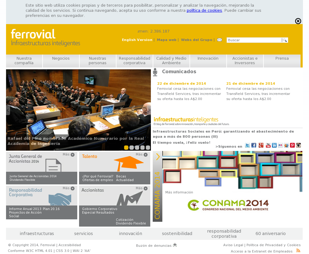 Ferrovial Competitors, Revenue and Employees - Owler Company Profile
