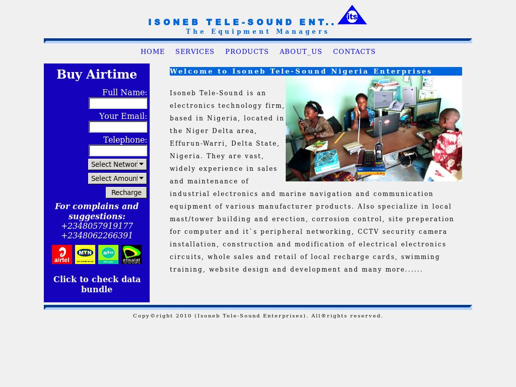 Isoneb Tele-sound Enterprises Competitors, Revenue and