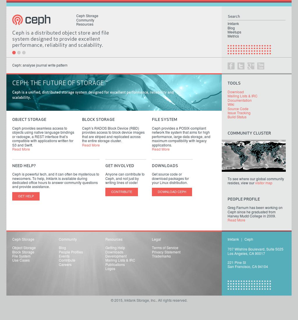 Ceph's Latest News, Blogs, Press Releases & Videos