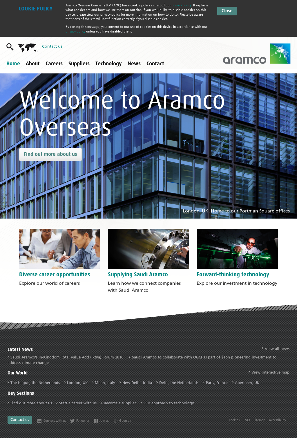 Aramco Overseas Company Competitors, Revenue and Employees
