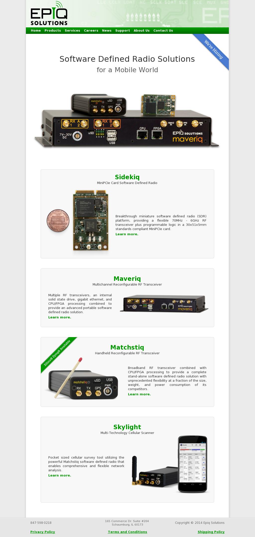 Owler Reports - Press Release: Epiq Solutions : RF Transceiver Card