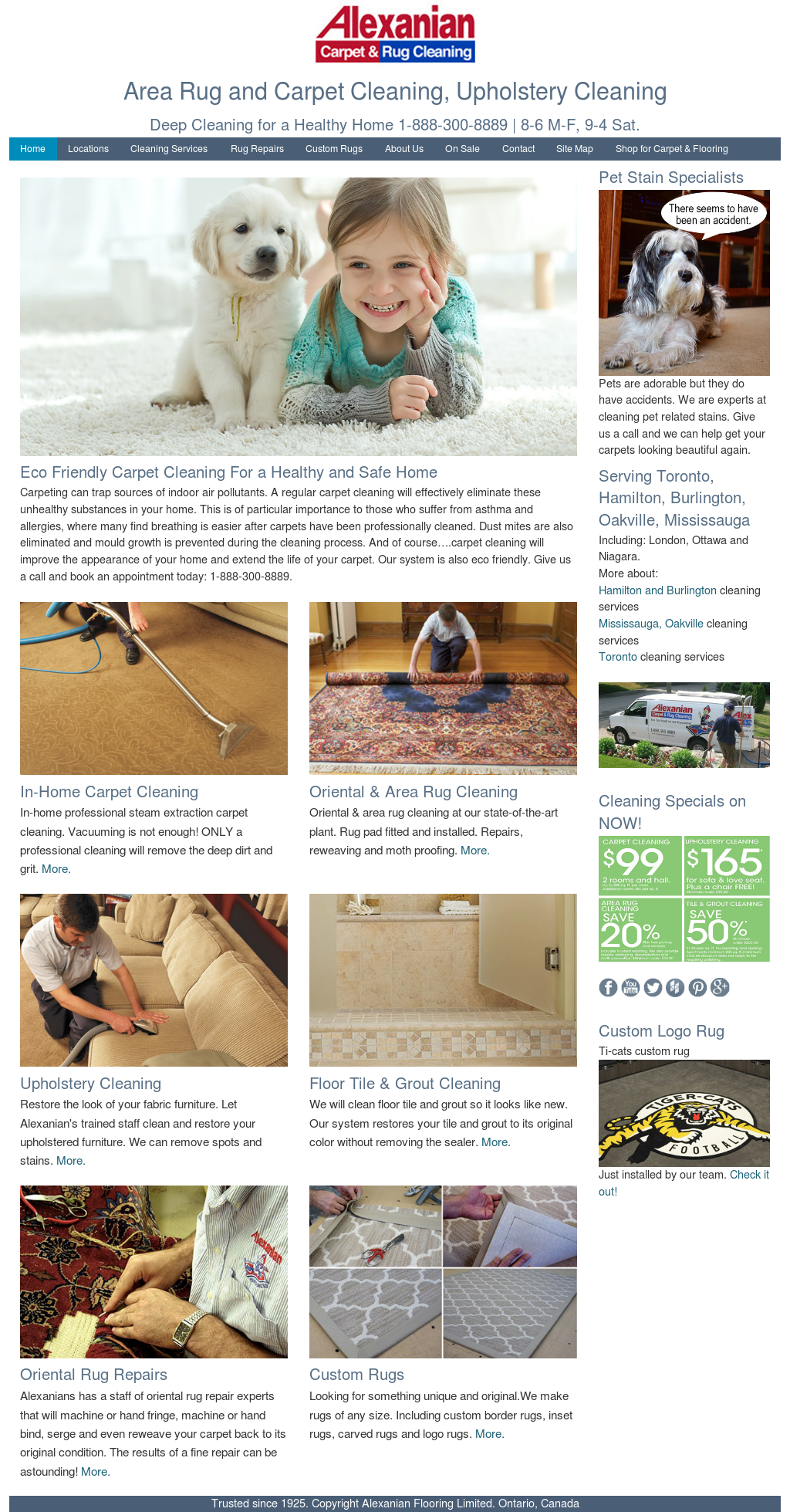 Alexanian Carpet Cleaning Competitors