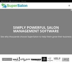 Supersalon Website History