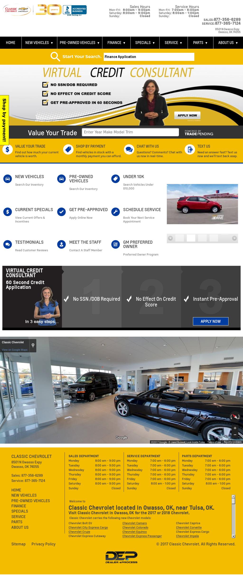 Classic Chevrolet Commercial Fleet Division Competitors