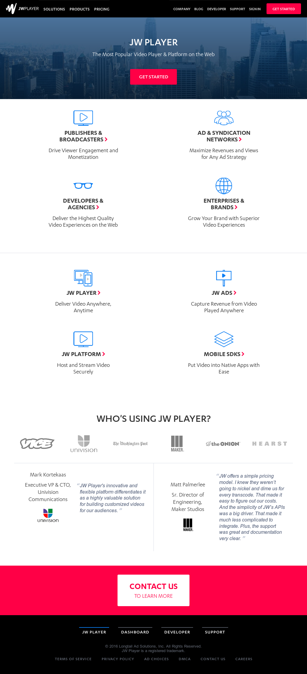 JW Player Competitors, Revenue and Employees - Owler Company