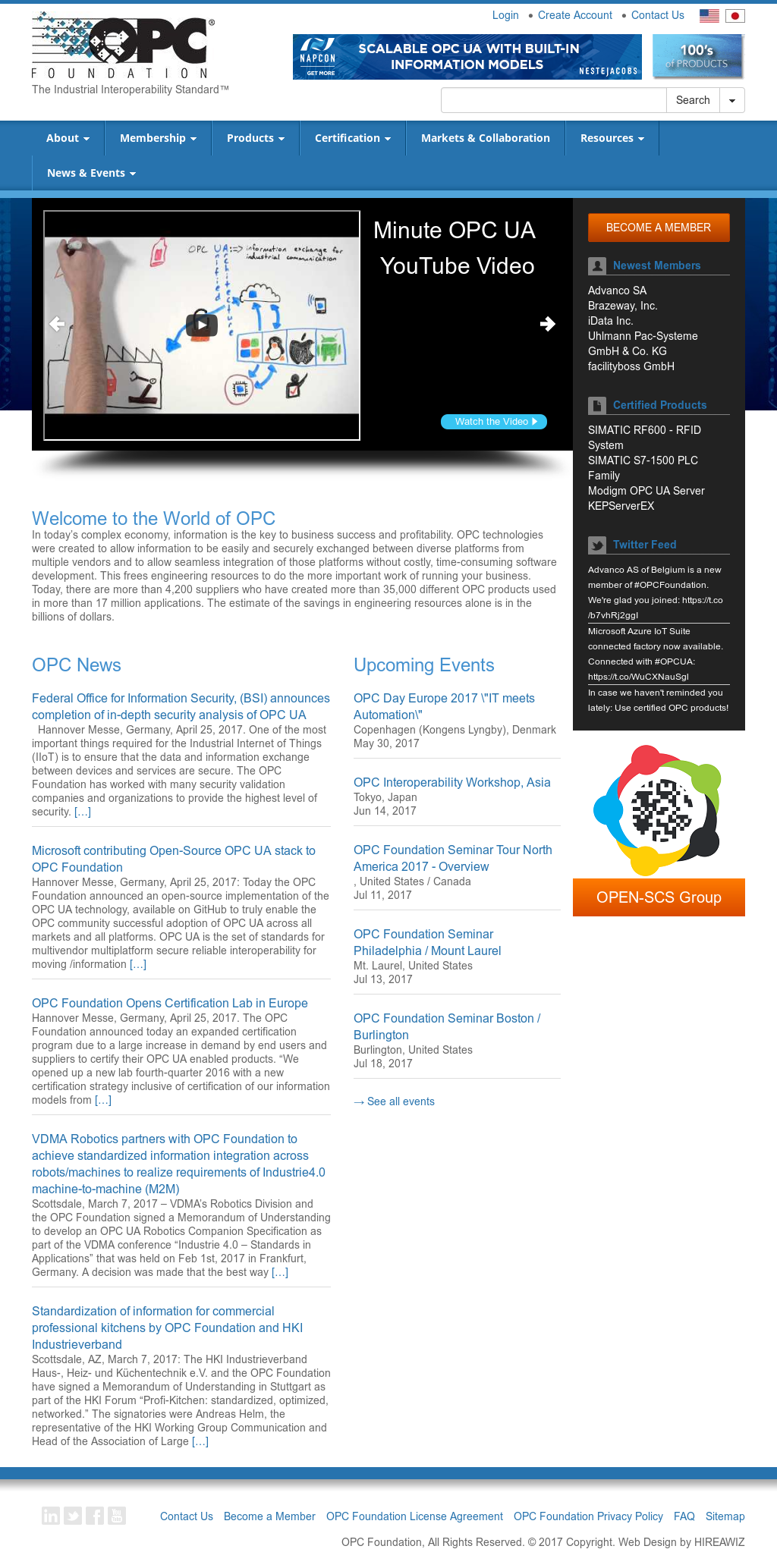 OPC Foundation Competitors, Revenue and Employees - Owler