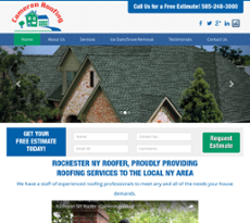 Cameron Roofing Website History