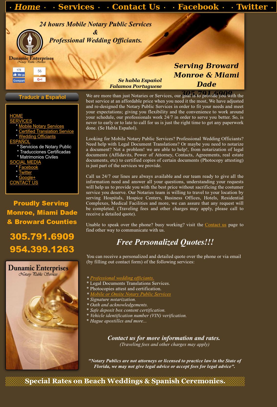 24 Hours Mobile Notary Public Services Monroe Miami Dade