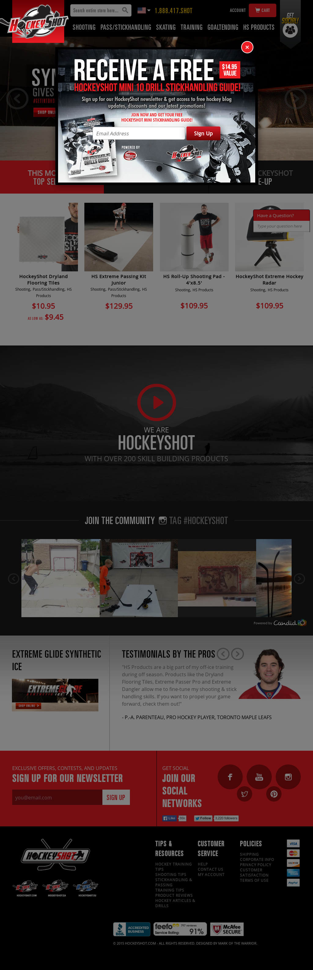 Hockeyshot competitors revenue and employees owler company profile hockeyshot website history dailygadgetfo Choice Image