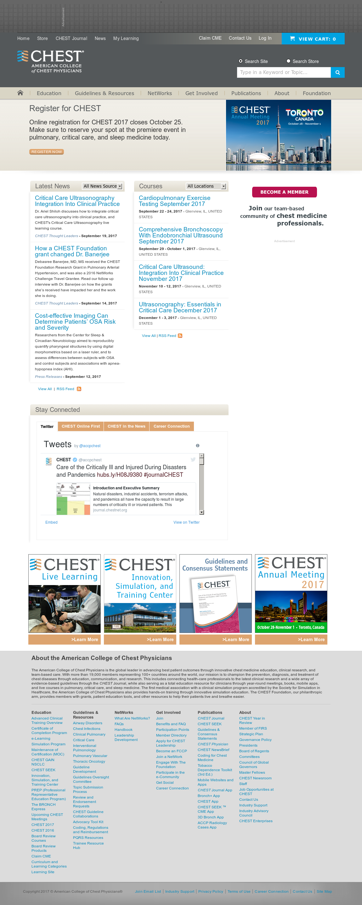 Chest Physicians Competitors, Revenue and Employees - Owler