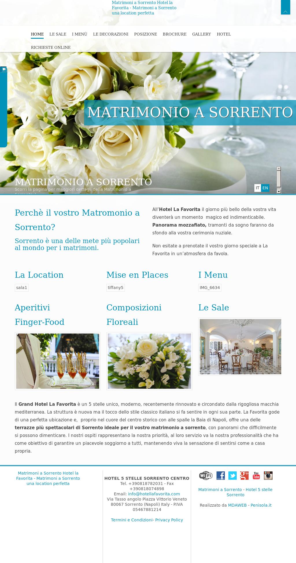 The Grand Hotel La Favorita Competitors Revenue And