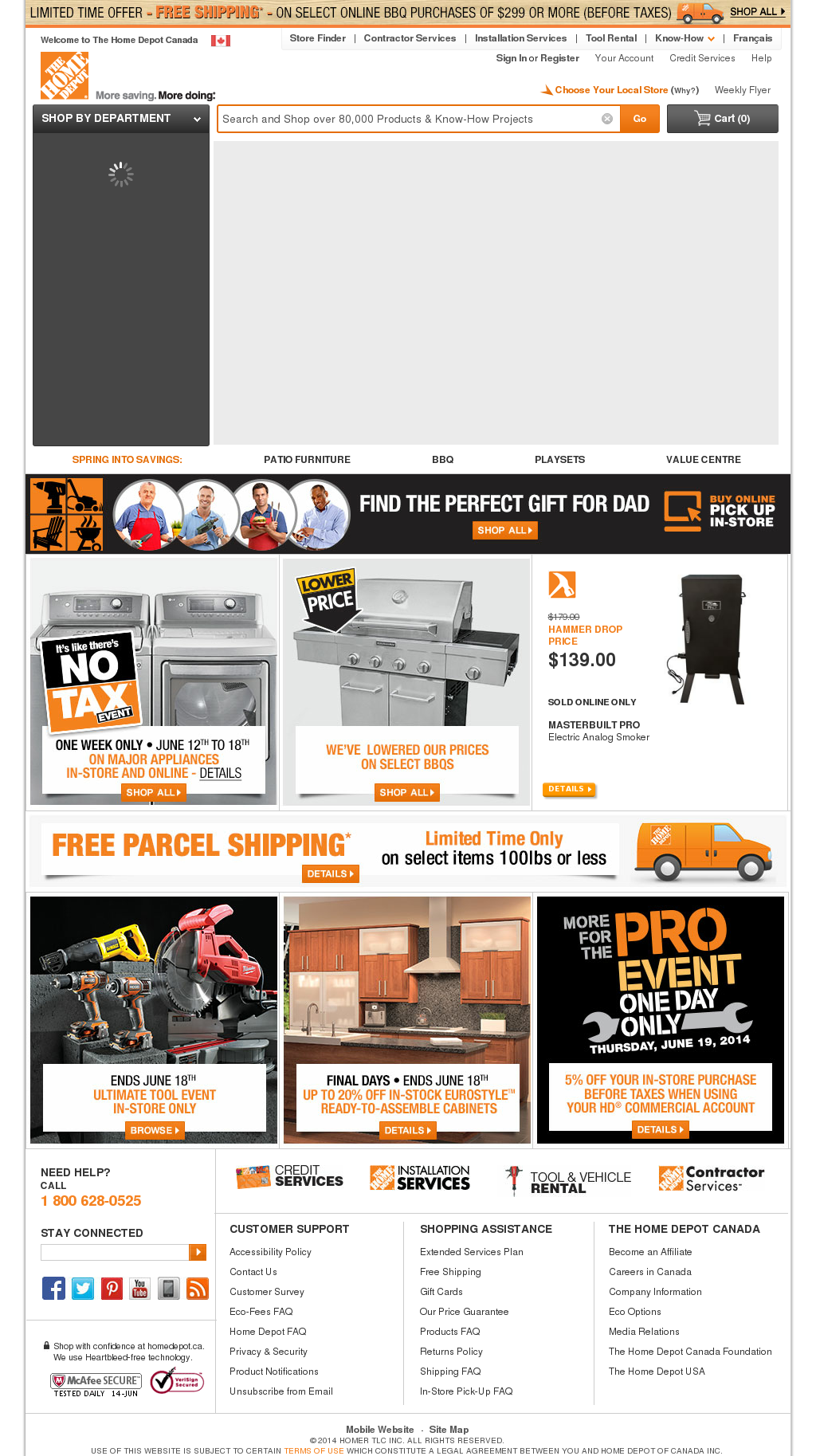 Home Depot Of Canada Competitors, Revenue and Employees