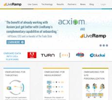LiveRamp website history