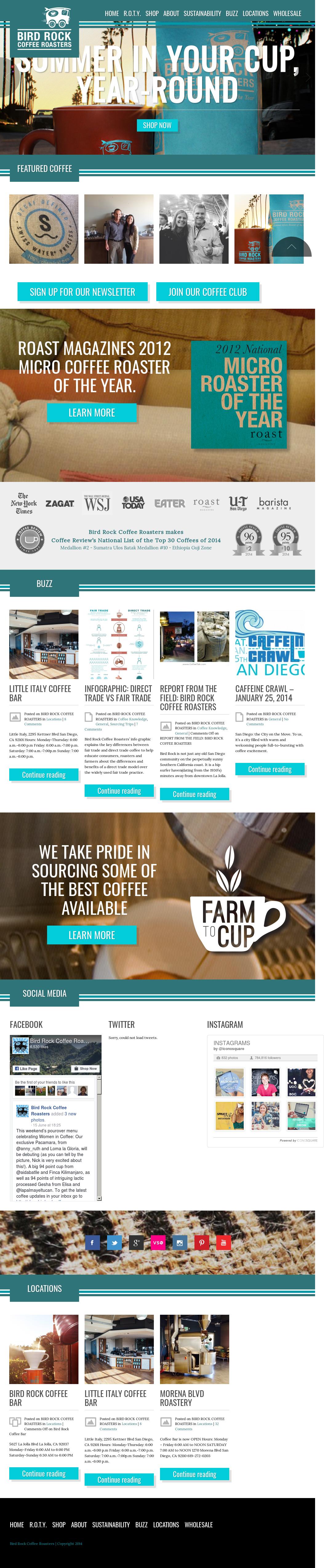 Birdrockcoffee Competitors, Revenue and Employees - Owler