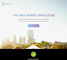 Circle Internet Financial website history