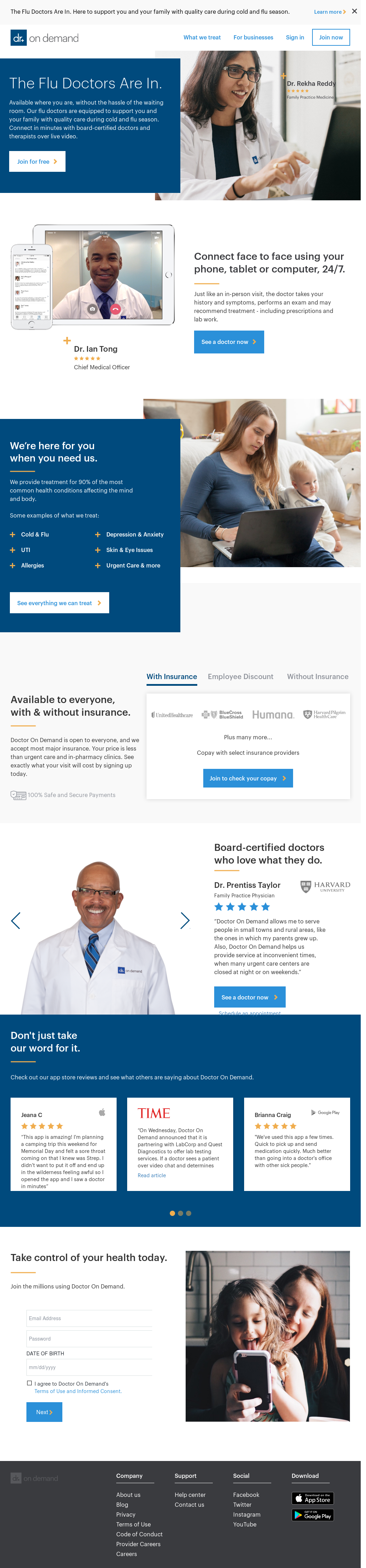 Doctor On Demand Competitors, Revenue and Employees - Owler Company